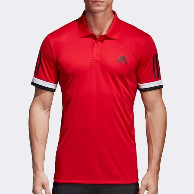 Polo Adidas Club 3STR Scarle 2018