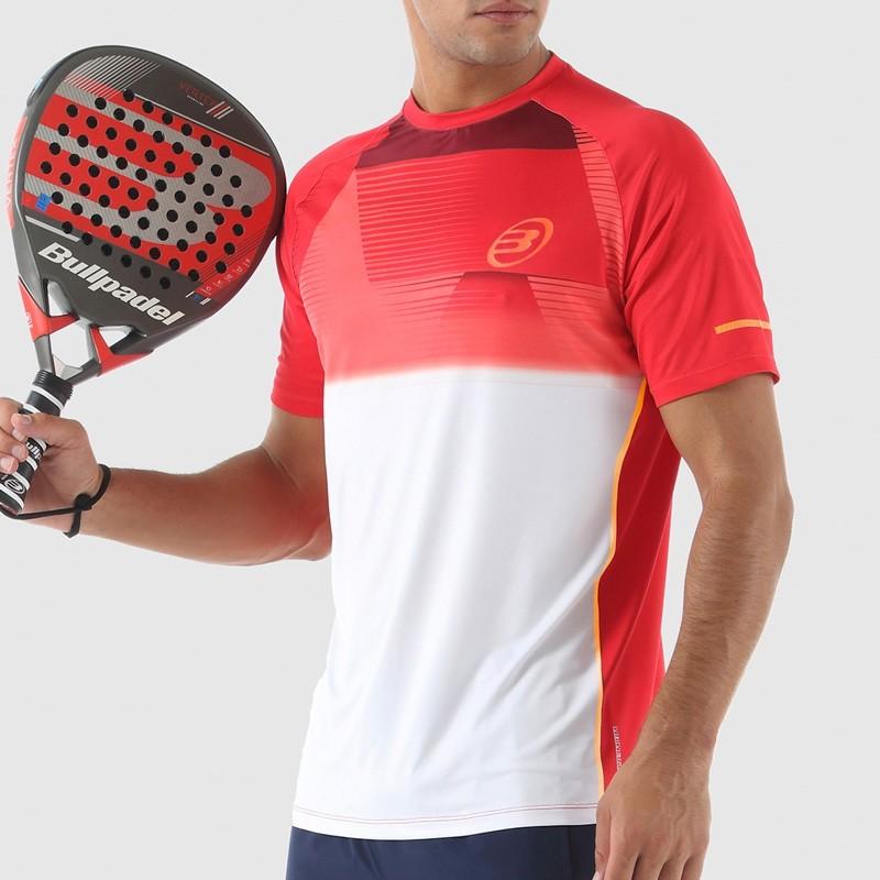 Camiseta Bullpadel Ternate Rojo 2018
