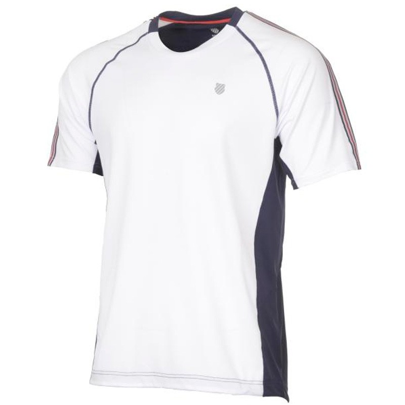 Camiseta Kswiss Heritage S/S White 2018