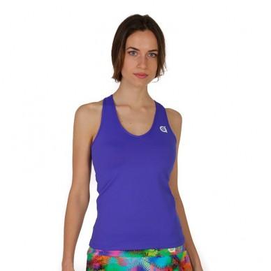 Camisetas de padel  Mujer Cielo Lt Azul 2018