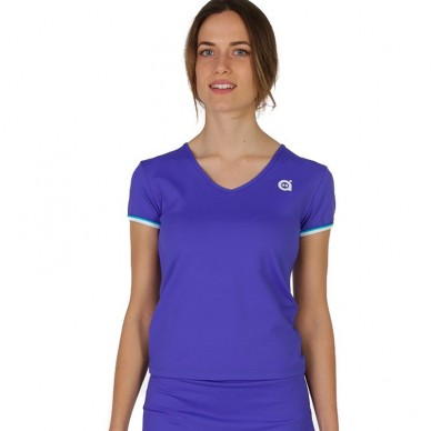 Camisetas de padel  Cima Lt Azul 2018