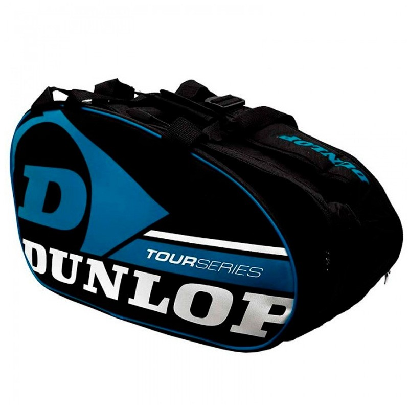Paletero Dunlop Tour Competition Black / Blue 2018
