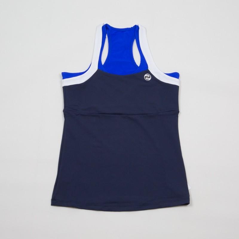 Camiseta emwey Tirantes Azul Marino 2018