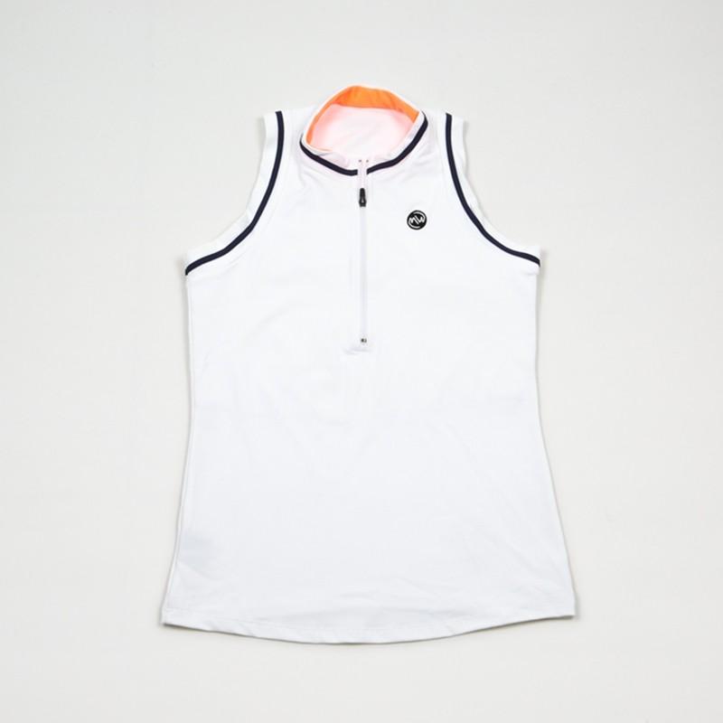 Camiseta emwey Cuello Mao Blanca 2018