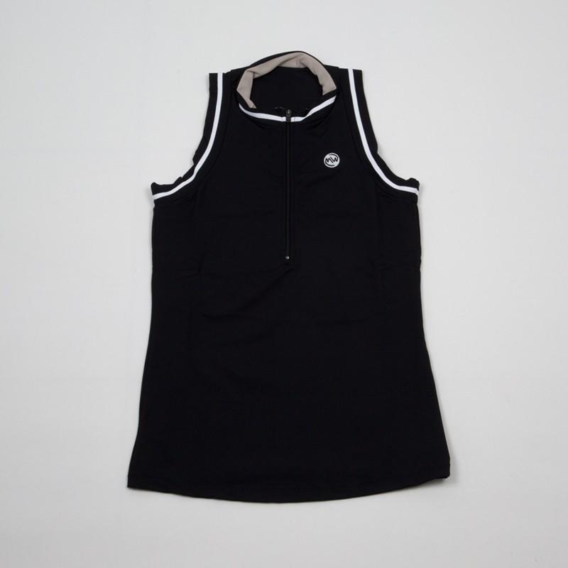 Camiseta emwey Cuello Mao Negra 2018