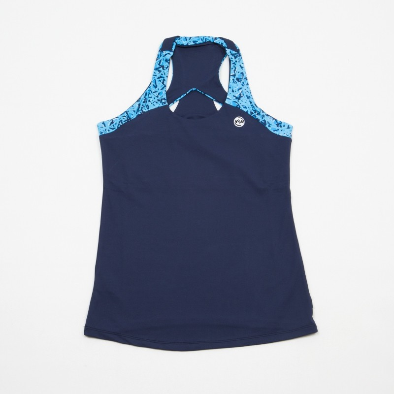 Camiseta Emwey Tirantes Azul Marino / Turquesa 2018