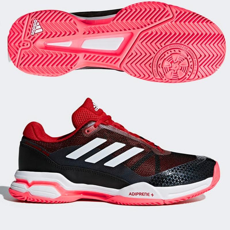 Zapatillas Adidas Barricade Club Scarlet 2018