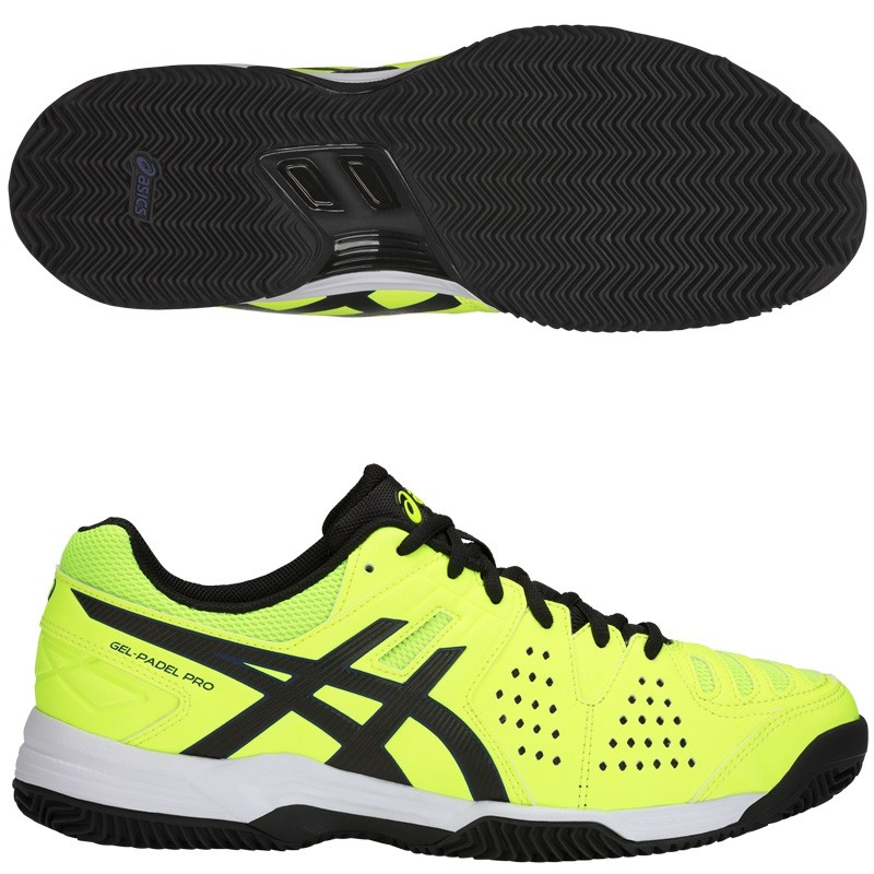 Zapatillas Asics Gel Padel Pro 3 SG Flash Yellow / Black 2018