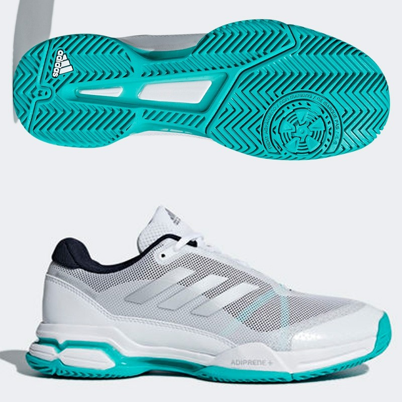 Zapatillas Adidas Barricade Club Legend Ink F17/Matte Silver 2018