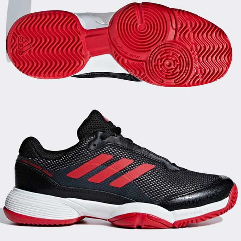 Zapatillas Adidas Barricade Club Xj Core Black/Scarle/Ftwr 2018