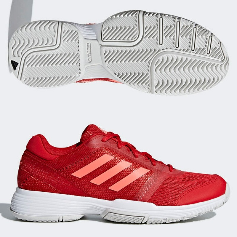 Zapatillas Adidas Barricade Club W Scarlet/Flash Red S15/Ft 2018