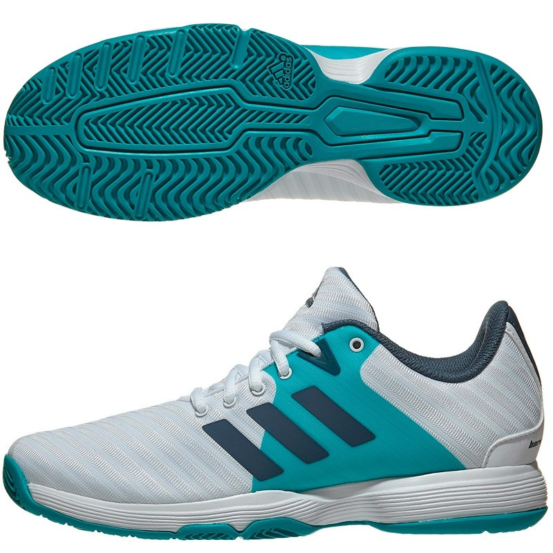 Zapatillas Adidas Barricade Court W Ftwr White/Tech Ink F1 2018