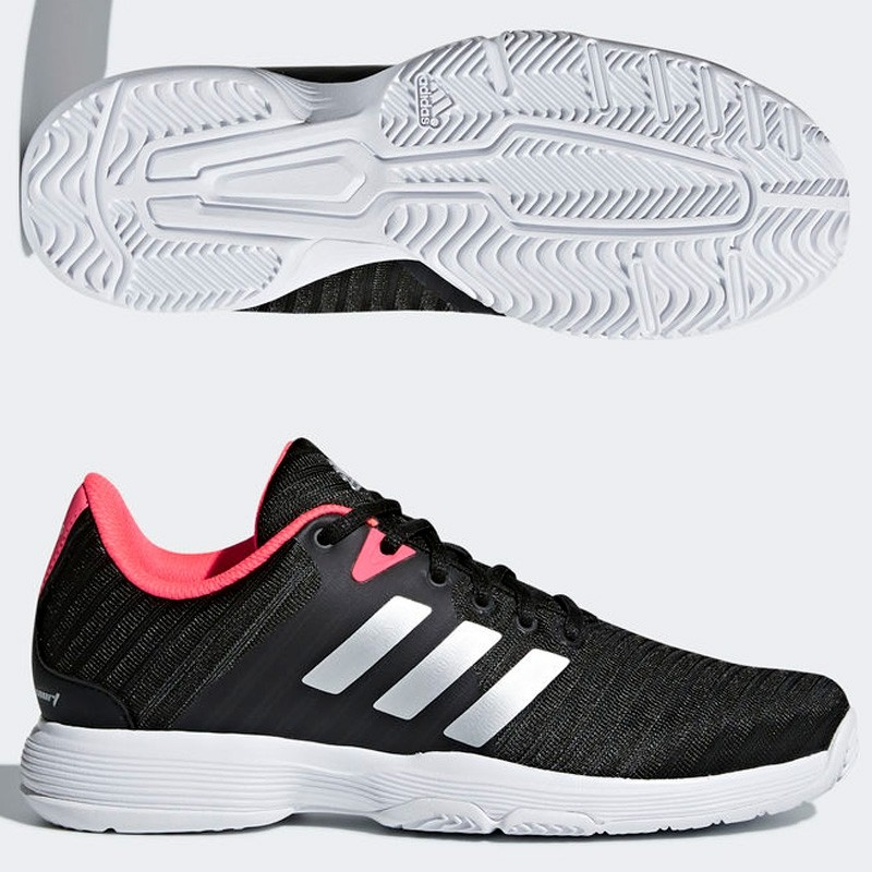 Zapatillas Adidas Barricade Court W Core Black/Matte Silve 2018