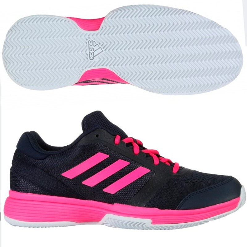 Zapatillas Adidas Barricade Club W Clay Legend Ink F17 / Shoc 2018