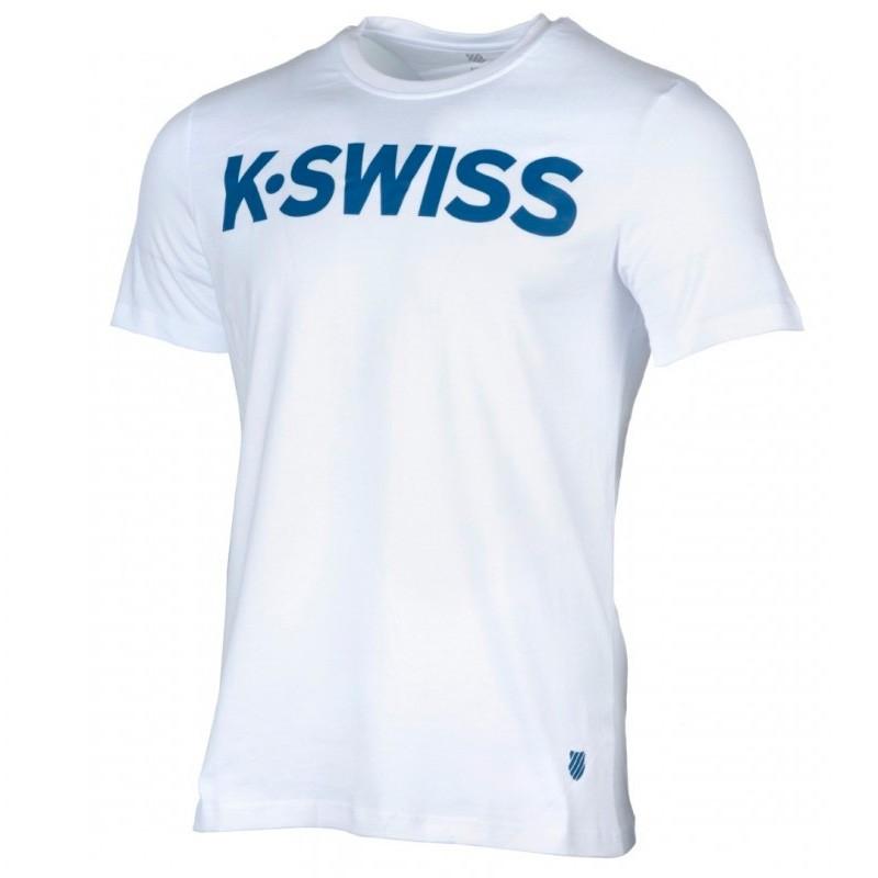 Camiseta Kswiss Promo White 2018
