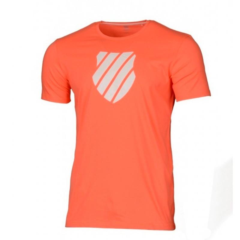 Camiseta Kswiss Logo Neon Blaze 2018