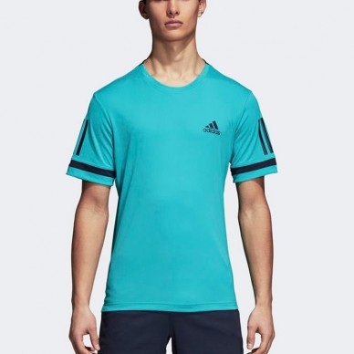 Adidas Camiseta Club 3Str Hi-Res Aqua 2018