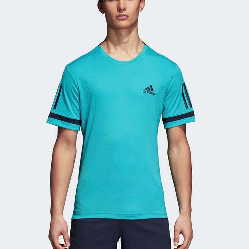 Comprar Camiseta Adidas Club 3STR Verde 2018 - Zona de Padel 442fed71f39