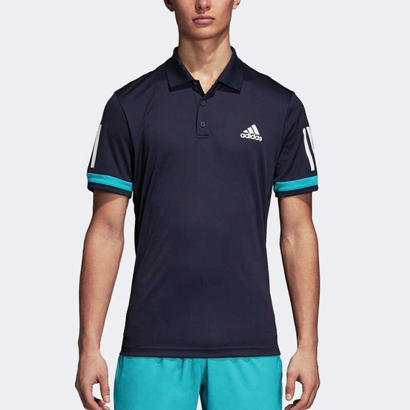 Polo Adidas Club 3Str Legend Ink F17 2018