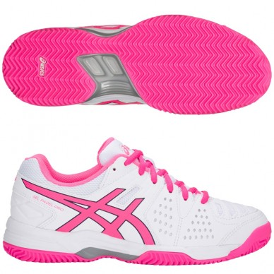 Zapatillas Gel Padel Pro 3 SG White / Hot Pink 2018