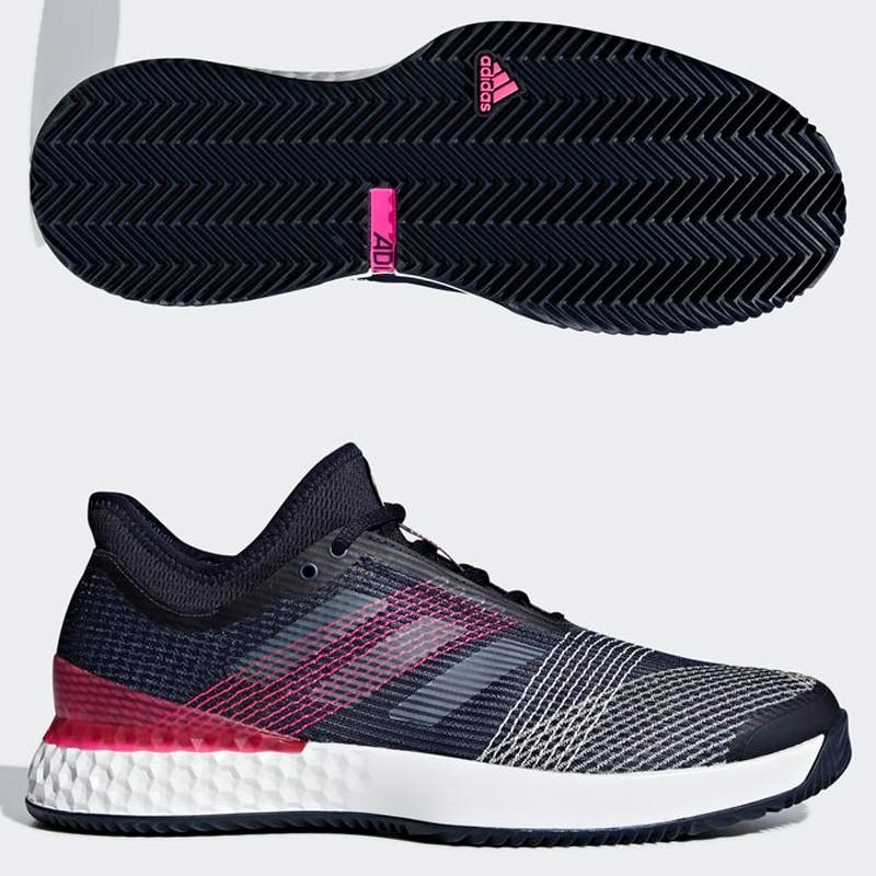 Zapatilla Adidas Adizero Ubersonic 3 Ftwr White/Leg 2018