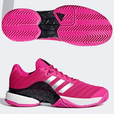Adidas  Barricade Boost Pinkf/Mate 2018