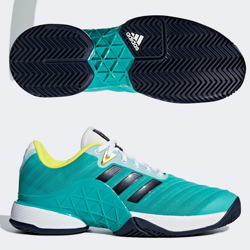 Zapatilla Adidas Barricade Hi-Res Aqua Legend Ink 2018
