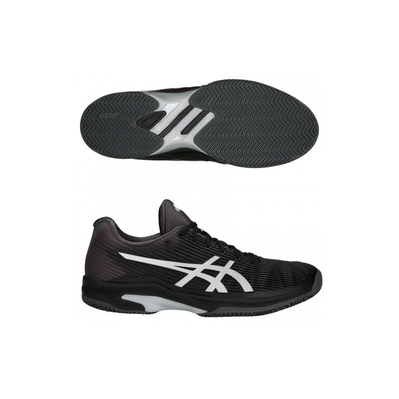 Solution Asics Speed FF Clay Black/Silver W 2018