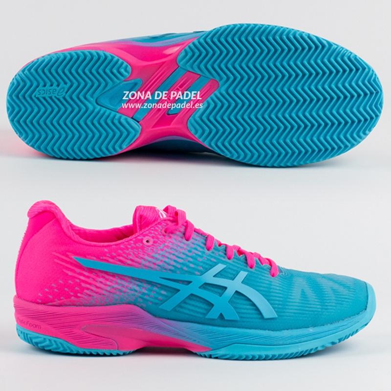 Zapatillas solution speed ff clay aquarium hot pink 2018