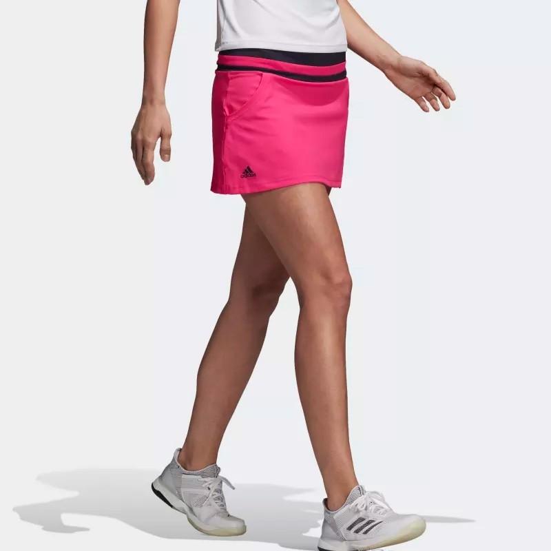 Falda Adidas Club Shock Pink 2018