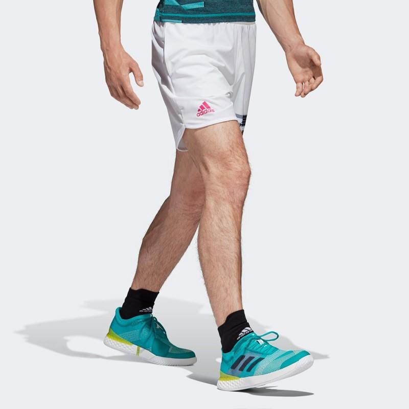 Pantalon Adidas Corto Seasonal White 2018
