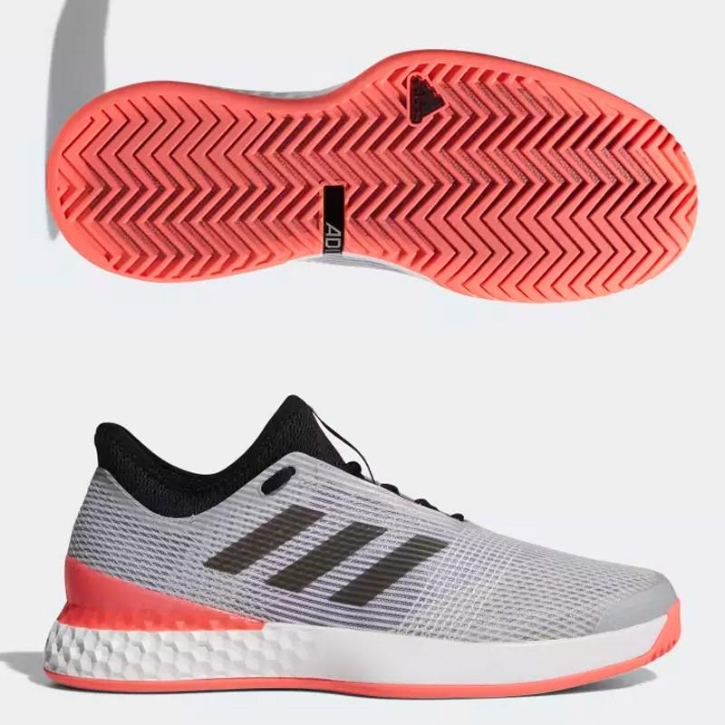 Zapatillas Adidas Adizero Ubersonic 3 Silver / Core 2018