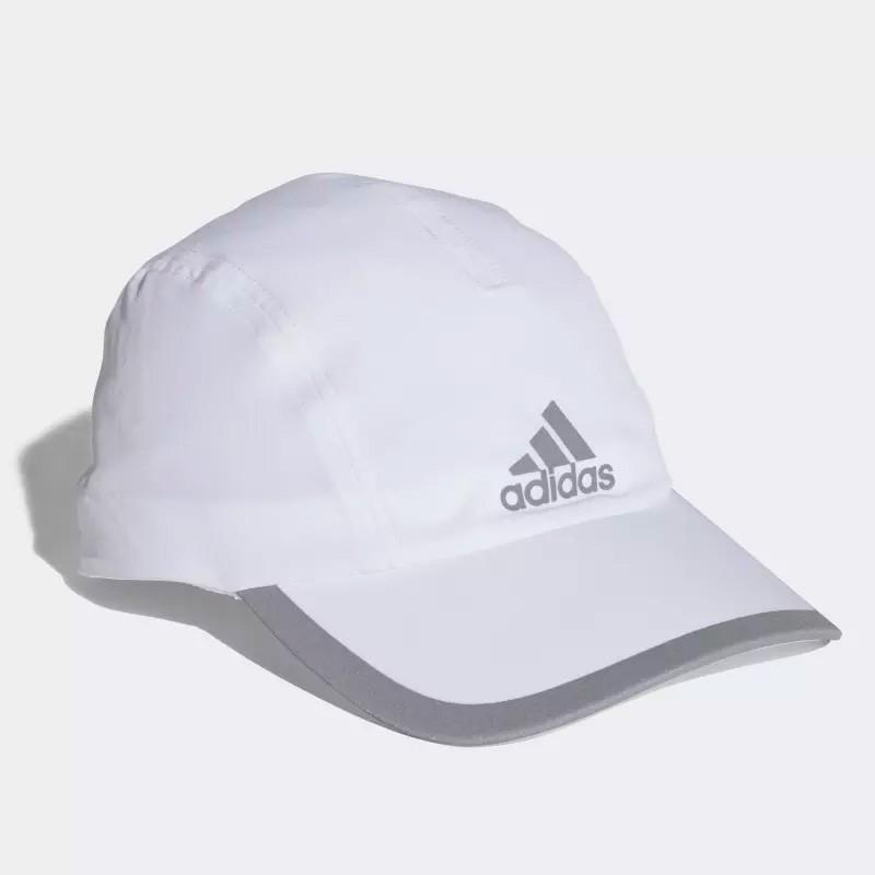 Comprar Gorra Adidas Blanca con logo Gris 2018 - Zona de Padel 5e9aaf50823