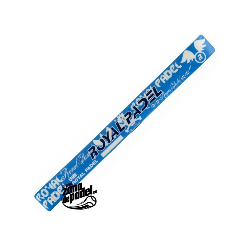 Protector pala de padel Azul y blanco