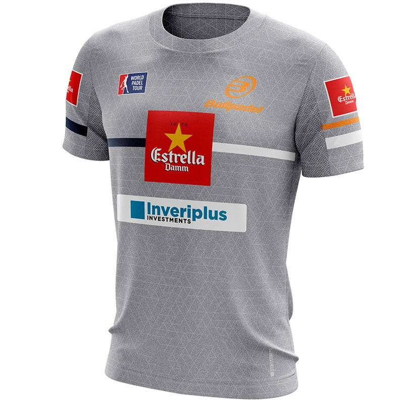 Camiseta Bullpadel Intria Maxi Sanchez Gris 2019