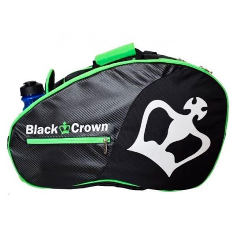 Paletero Black Crown Tron Negro y Verde 2018