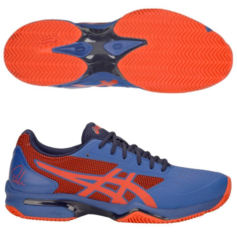 Zapatillas Asics Gel Lima Padel 2 Blue / Fiery Red 2019