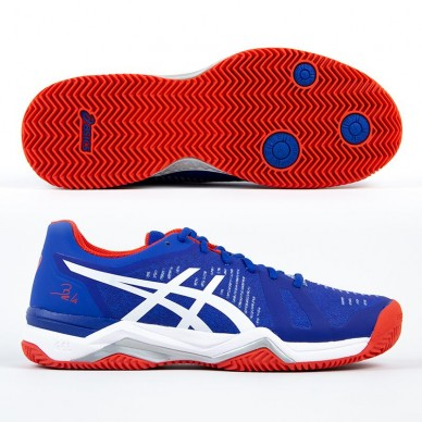 560edbe8c Asics Zapatillas Gel Bela 6 SG Blue   White 2019