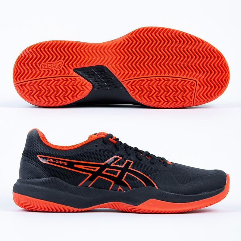 Zapatillas Asics Gel Game 7 Clay Black / Cherry Tomato 2019