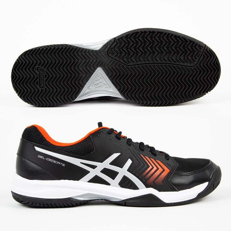 Zapatillas Asics Gel Dedicate 5 Clay Black / Silver 2019