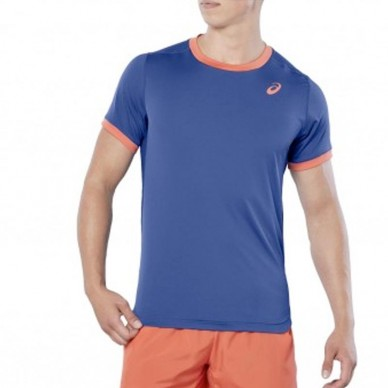 ace32f1f Comprar Camiseta Asics SS Top Azul Oscuro 2018 - Zona de Padel