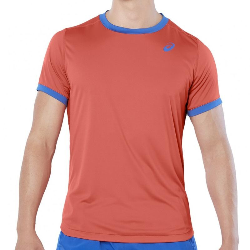 Camiseta Asics Club SS Top Red Snapper 2019
