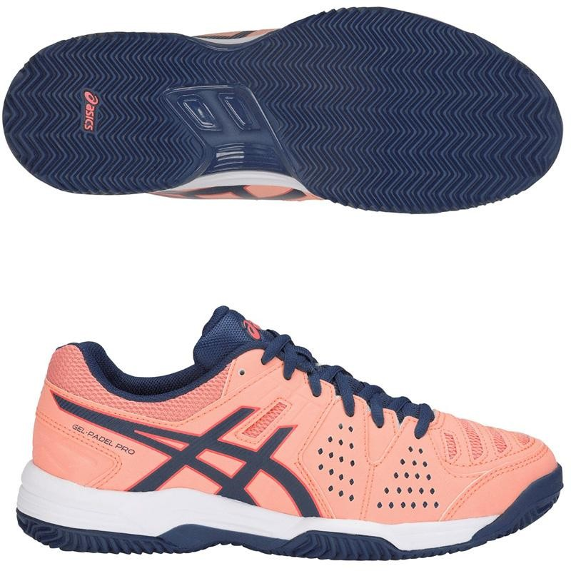 Zapatillas Asics Gel Padel Pro 3 SG Woman Grapefruit 2019