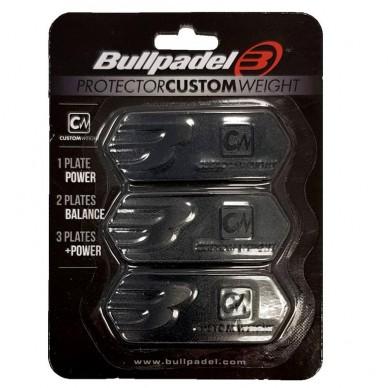 BullpadelProtector Custom Weight Negro 2019