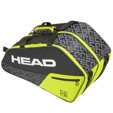 Paletero Core Padel Combi Black Yellow 2019