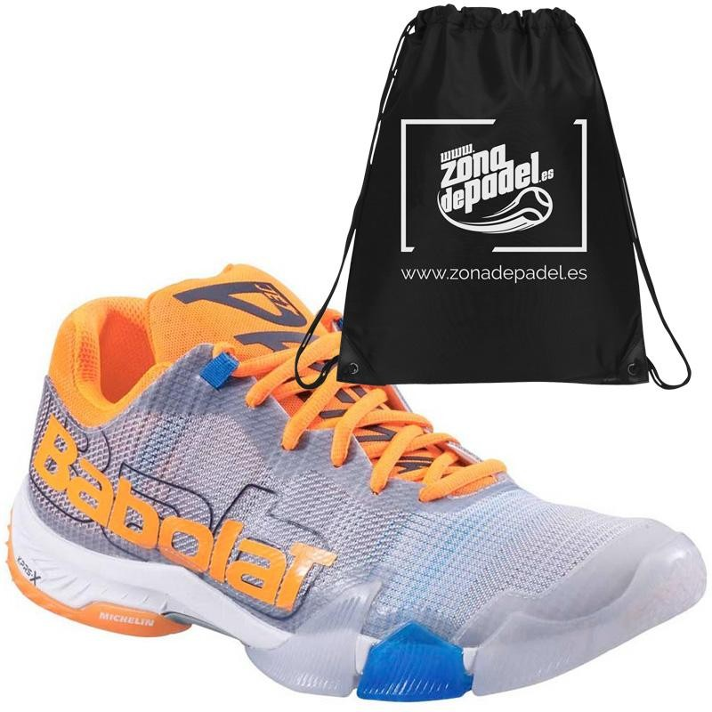 Zapatillas Babolat Jet Premura Grey Orange 2019
