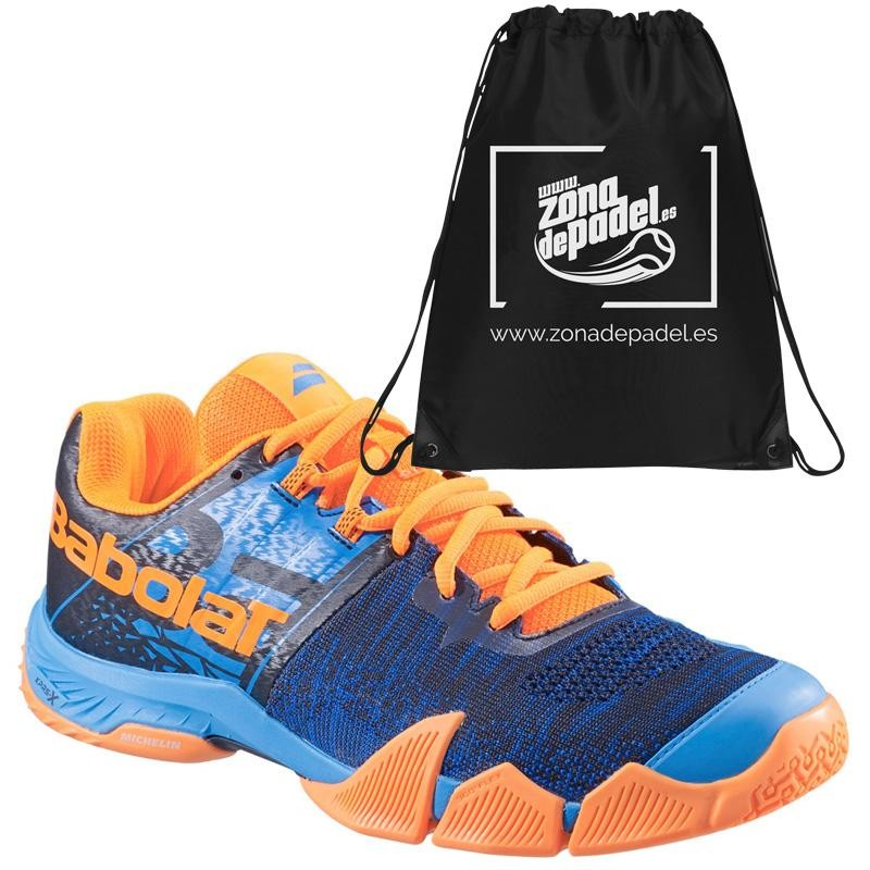 Zapatillas Babolat Movea Bleu Orange 2019