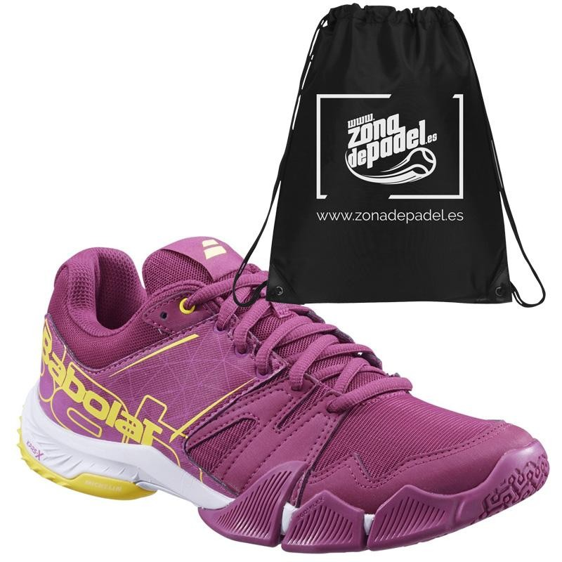 Zapatillas Babolat Pulsa Woman Purple 2019