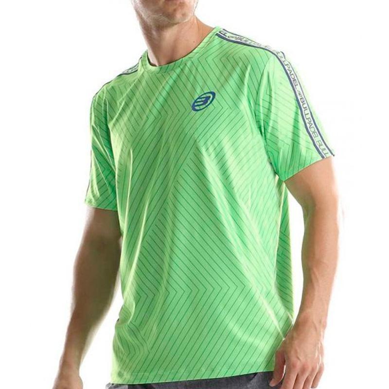 Camiseta Bullpadel Tuco Verde Flúor 2019