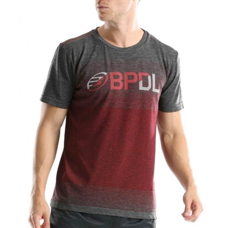 Camiseta Bullpadel Gerete Rojo Vigore 2019